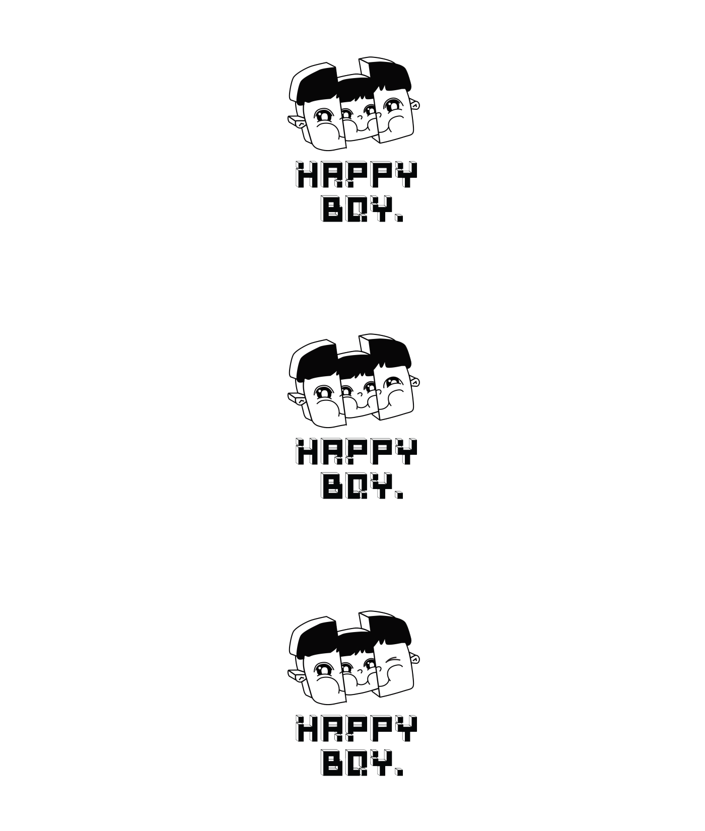happy boy auckland burgers main logo